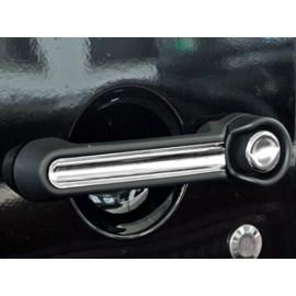 Enjoliveur de poignée de porte acier inox 10 éléments - Wrangler JK Unlimited 07 - 16