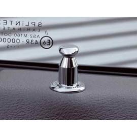 Kit de bouton de porte acier inox - Grand Cherokee WH / WK 05 - 10