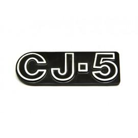 Jeep CJ-5 emblem - Jeep CJ5 72 - 83