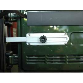 Butoir de roue de rechange Ridelle de hayon Aluminium