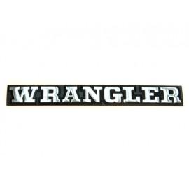 Wrangler emblème - Wrangler YJ 87 - 90