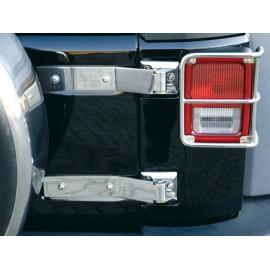 Kit de charnières de ridelle acier inox - Wrangler JK Unlimited 07-