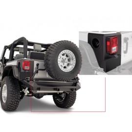 Panneau de coin arrière à surface texturée 2 portes - Wrangler JK 07-