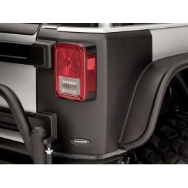 Panneau de coin arrière à surface texturée 4 portes - Wrangler JK Unlimited 07-