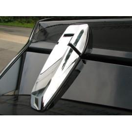 Kit d'enjoliveur charnières de ridelle plast./chromée 2 éléments - Grand Cherokee WH / WK 05 - 10