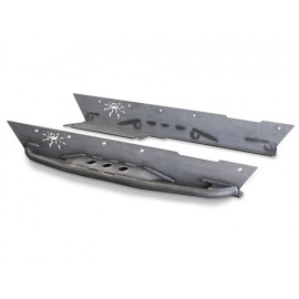 Kit de tubes de protection latéraux Ricochet Rockers - Wrangler TJ 96 - 06