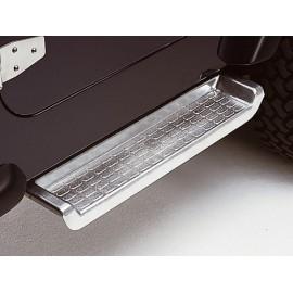 Marchepied aluminium - Wrangler TJ 97 - 00