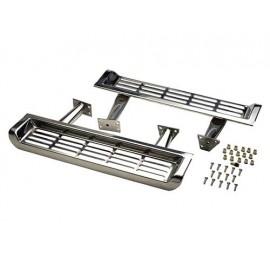 Marchepied acier inox - Wrangler TJ 97 - 00