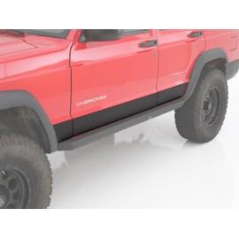 Protections de bas de caisse latérales XRC 2 portes - Cherokee XJ 84 - 01
