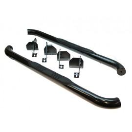 Kit de tubes de protection latéraux 2 portes Ø 75mm noir - Wrangler JK 07 - 14