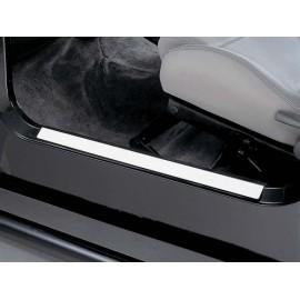 Protections de seuil de porte acier inox - Wrangler YJ 87 - 95