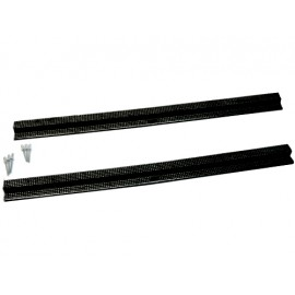 Protections de seuil de porte noires, alu - Wrangler TJ 96 - 06