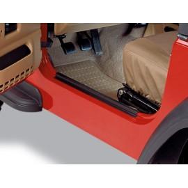 Protections de seuil de porte noires - Wrangler TJ 97 - 05